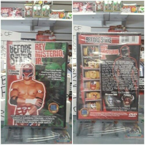Before They Were Stars Rey Mysterio Jr DVD