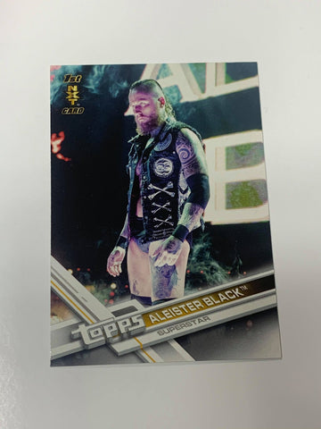 Aleister Black WWE 2017 Topps NXT Card #165