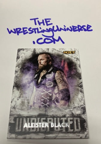 Aleister Black WWE NXT Topps