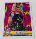 Alexa Bliss 2020 Topps WrestleMania Card #3