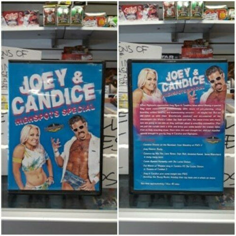 HIGHSPOTS The Joey Ryan And Candice LeRae Special DVD