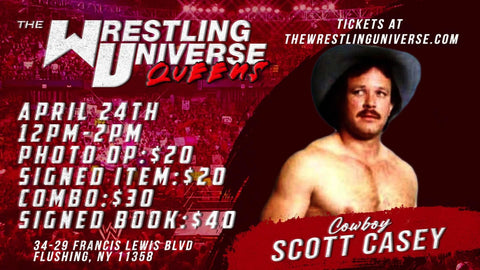 In-Store Meet & Greet with Cowboy Scott Casey Sat April 24th from 12-2PM TIX NOT MAILED (CHOOSE COMBO $30/AUTO $20/PHOTO OP $20/SIGNED BOOK $40)