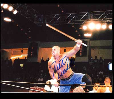 Justin Credible Pose 2 Signed Photo COA