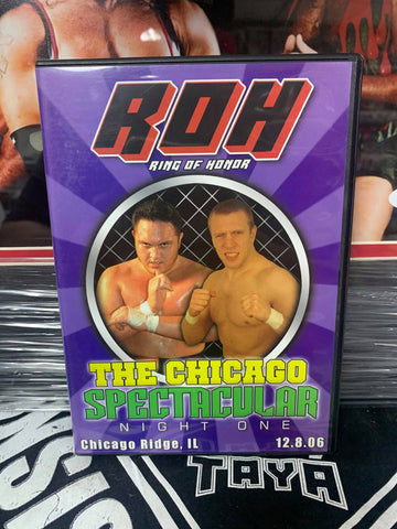 ROH Ring Of Honor The Chicago Spectacular Night One 12/8/06 DVD OOP
