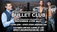 Meet Bullet Club (Cody Rhodes & Young Bucks) on December 17th. from 12-3pm PHOTO OPP TICKET