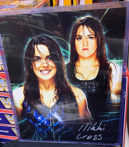 Nikki Cross Signed 11x14 Photo (Auto in Blue or White)