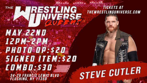 In-Store Meet & Greet with Steve Cutler Sat May 22nd from 12-2PM TIX NOT MAILED (CHOOSE COMBO $30/SIGNED ITEM $20/PHOTO OP $20)