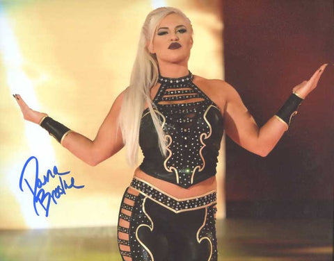 Dana Brooke Pose 3 Signed Photo COA