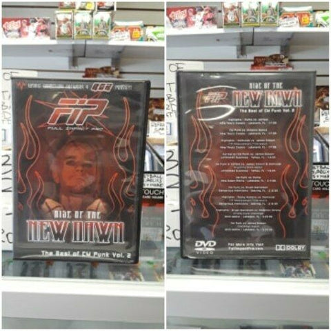 Full Impact Pro FIP Rise of the Dawn the Best of CM Punk Vol. 2 DVD