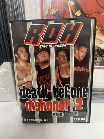 ROH Ring Of Honor Death Before Dishonor 2 Part 1 Chicago Ridge 7.24.04 DVD OOP