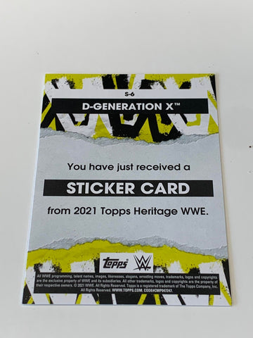 D-Generation X Billy Gunn & Road Dogg Dual Signed Photo COA