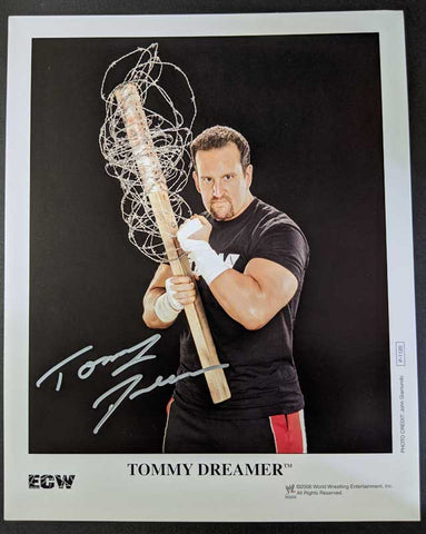Tommy Dreamer Official ECW/WWE Signed Promo 2006 Photo COA