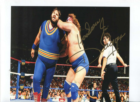 Hacksaw Jim Duggan Pose 6 Signed Photo COA