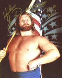 Hacksaw Jim Duggan Pose 1 Signed Photo COA