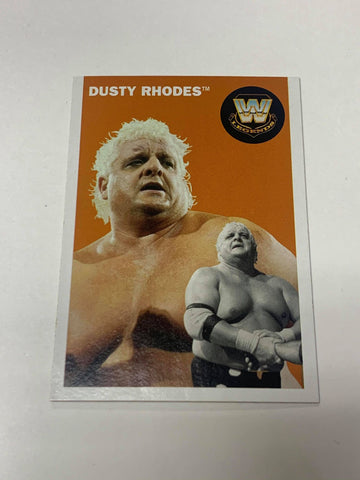 Dusty Rhodes WWE 2006 Topps Heritage Card #74