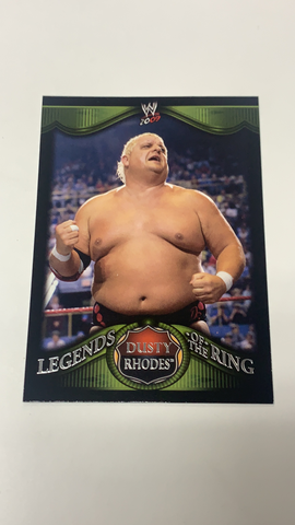 Dusty Rhodes WWE 2009 Topps Legends of the Ring Card #6