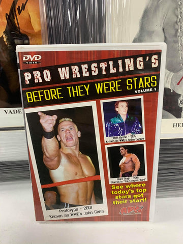 "Pro Wrestling's ""Before They Were Stars"" Vol. 1 DVD"