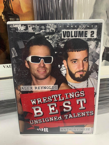 Wrestling's Best Unsigned Talent Vol. 2 DVD