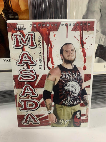 Masada Shoot Interview (2 Disc Set) DVD