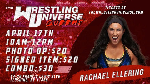 In-Store Meet & Greet with Rachael Ellering Sat April 17th from 10AM-12PM (CHOOSE COMBO $30/SIGNED ITEM $20/PHOTO OP $20)