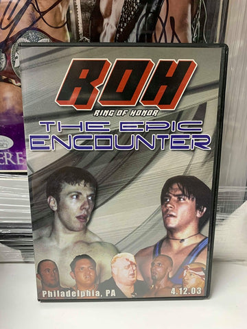 ROH Ring Of Honor The Epic Encounter 4/12/03 DVD OOP