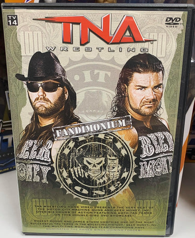 TNA Fandimonium Best of Beer Money & The Motor City Machine Guns 2 Disc Set DVD OOP