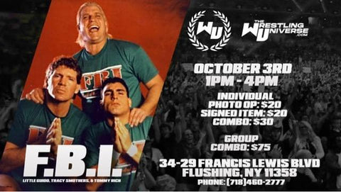 In-Store Meet & Greet with FBI (Little Guido/Tracy Smothers/Tommy Rich) Sat Oct 3rd from 1-4PM TIX NOT MAILED (CHOOSE FROM OPTIONS)