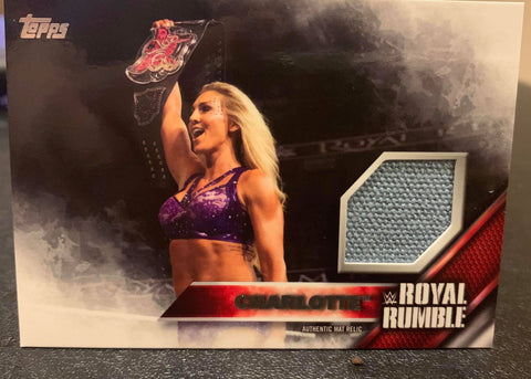 Charlotte Flair 2016 Topps Canvas Mat Relic #/399