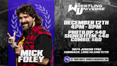 Mick Foley WrestleMania 22 Limited (Only 3000)
