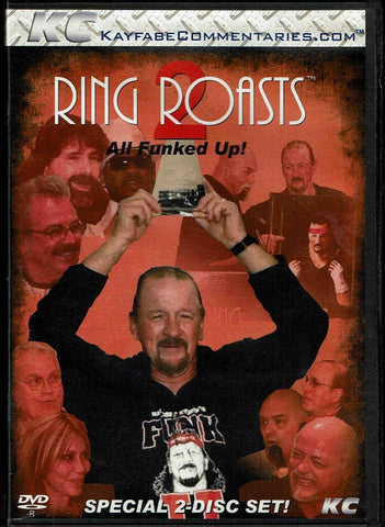 KC Kayfabe Ring Roasts 2 All Funked Up! Terry Funk Shoot Interview DVD