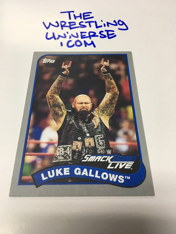 2018 Topps Luke Gallows Grey #/25