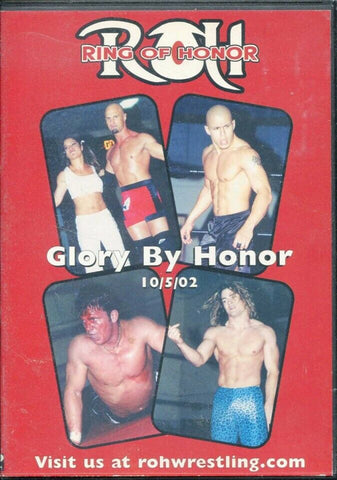 ROH Ring Of Honor Glory By Honor Philadelphia 10/5/02 DVD OOP