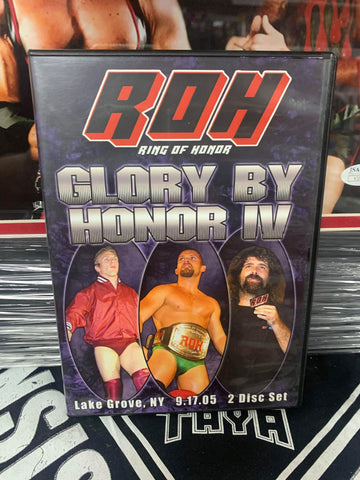 ROH Ring Of Honor Glory By Honor 4 (2 Disc Set) 9/17/05 DVD OOP