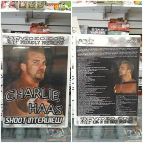 RF Video Charlie Haas Shoot Interview DVD