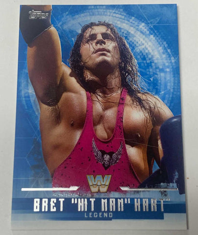 Bret Hart 2017 Topps WWE Undisputed Card #62