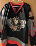 Bret Hitman Hart Signed Calgary CHL Hockey Jersey XL PSA/DNA COA