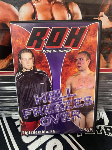 ROH Ring Of Honor Hell Freezes Over 1/14/06 Philadelphia DVD OOP
