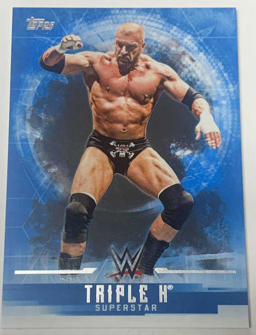 Triple H 2017 Topps WWE Undisputed Card #37