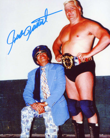 Pat Patterson Pose 6 Signed Photo COA