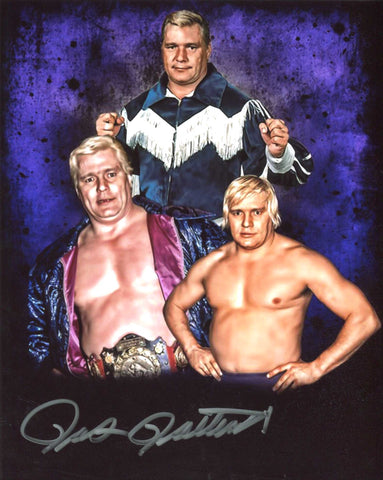 Pat Patterson Pose 1 Signed Photo COA