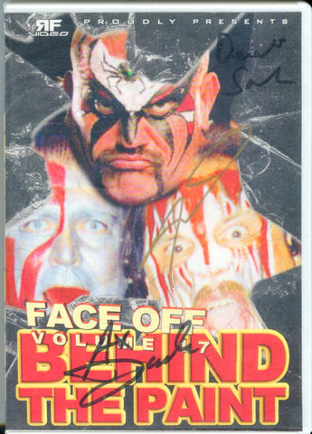 Face Off Behind The Paint 17 DVD Signed By Demolition & Animal