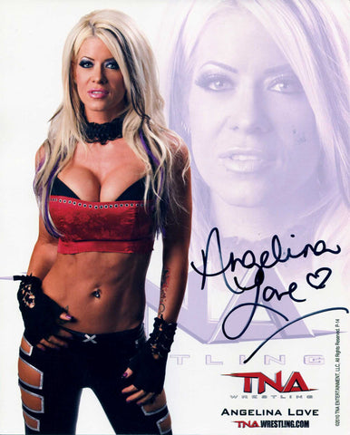 Glacier Be Cool WCW Pose 1 Signed Photo COA