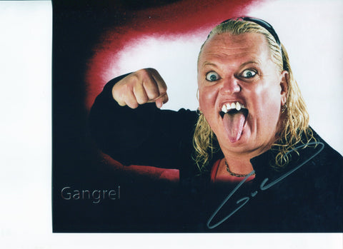 Gangrel Pose 2 Signed Photo COA