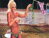 Torrie Wilson Pose 4 Signed Photo COA