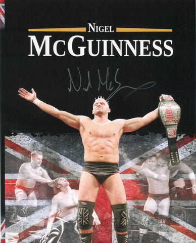 Nigel McGuinness ROH Pose 2 Signed Photo COA