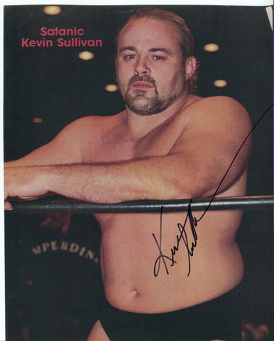 Kevin Sullivan Pose 2 Signed Photo COA