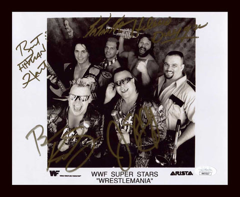 Dr. Stevie Richards Official TNA Promo Signed Photo COA