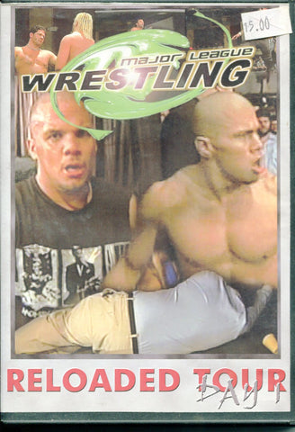 MLW HYBRID WRESTLING RELOADED TOUR Day One 2004 DVD