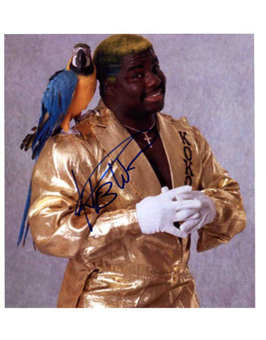 Koko B Ware Pose 1 Signed Photo (IMPERFECT - SALE)