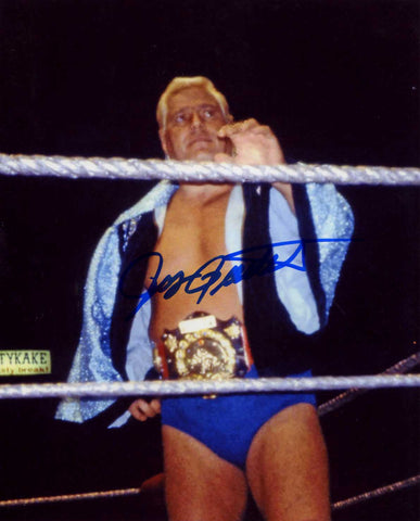 Pat Patterson Pose 5 Signed Photo B COA